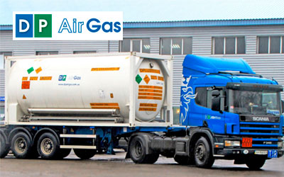 Доставка газов